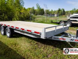 <span class='hidden'></span> K-Trail Deck Series - DKO18-10 Equipment Trailer