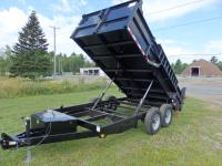 <span class='hidden'></span> Quality Steel and Aluminium Products 8316D Dump Trailer