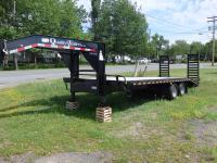 <span class='hidden'></span> Quality Trailers Gooseneck Equipment Trailer